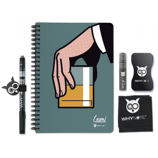 Whynote A5 - Bloc note reutilisable starter pack whiskey