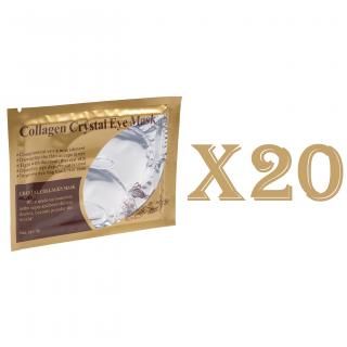 20 masque collagène blanc