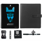 WHYNOTE® A5 FULL PACK BULLDOG - Bloc-notes Effaçable / Réutilisable à l'infini