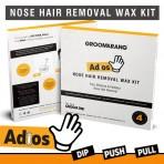 Kit d'épilation pour le nez Groomarang Adios