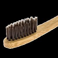 Brosse à dent infusée au charbon de bambou