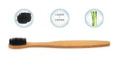 Brosse à dents anti bactérie naturelle