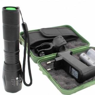 Coffret lampe torche & accessoires