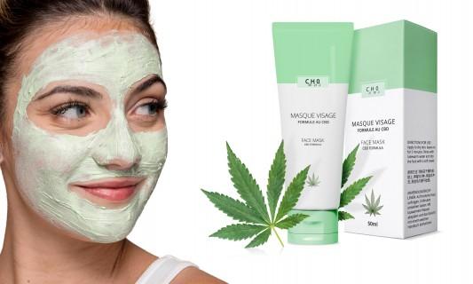 Masque à base de chanvre anti imperfections