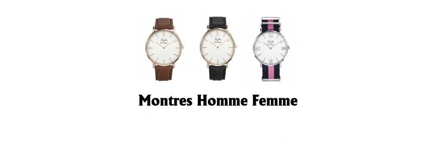 Montre Homme Femme