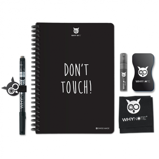 Whynote A5 - Bloc note reutilisable starter pack donttouch