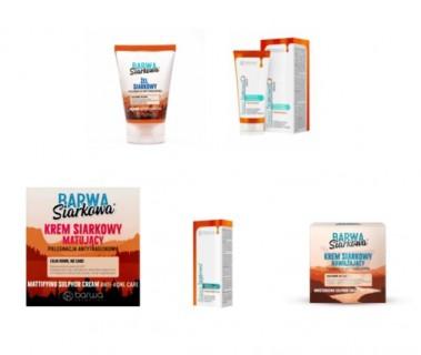 Différents packs de soin anti-acné/anti-sébum/antibactérien