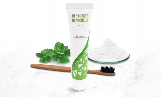 Dentifrice blanchissant et/ou brosse à dent